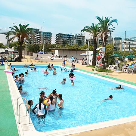遊泳プールの写真