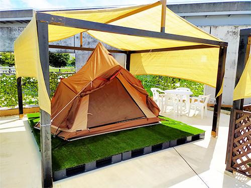 専用テント 写真